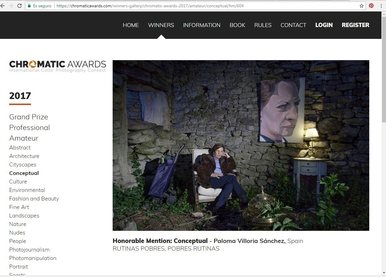 mención honorable chormatic awards
